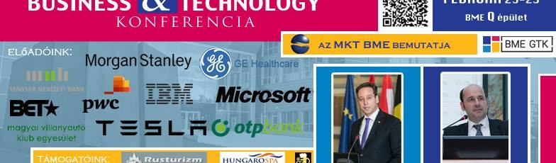 Business & Technology Konferencia a BME-n