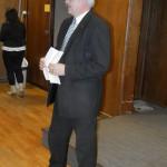 Csontos Sándor, az MKT Heves Megyei Szervezetének elnöke