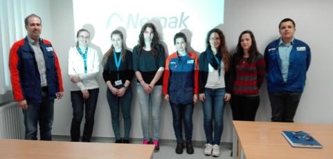 Gyárlátogatás a Nemak Győr Kft-nél
